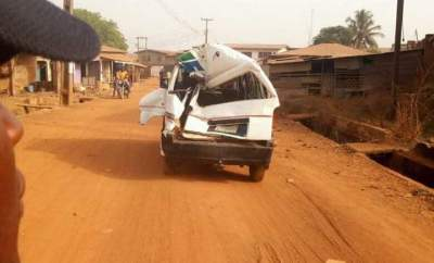 TRAILER HIT TWO VEHICLES IN OFFA, KWARA STATE