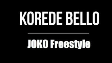 Photo of Korede Bello – Joko Freestyle