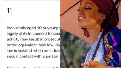 Photo of Singer Dija moves the motion for a change of the consent age in Nigeria