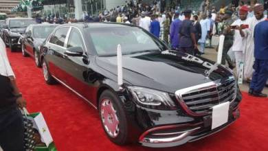 Photo of Buhari Marks Inauguration With N61 Million 2019 Mercedes Benz (Photos)