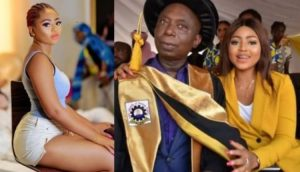 'This Grandpa Is Not Meant For You' – Fan Angrily Tells Regina Daniels