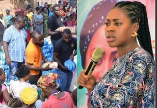 Photo of Meet Popular Nigerian Prophetess, A Multidimensional Philanthropist, as she slashed million on less privileged in Nassarawa [Watch Video]