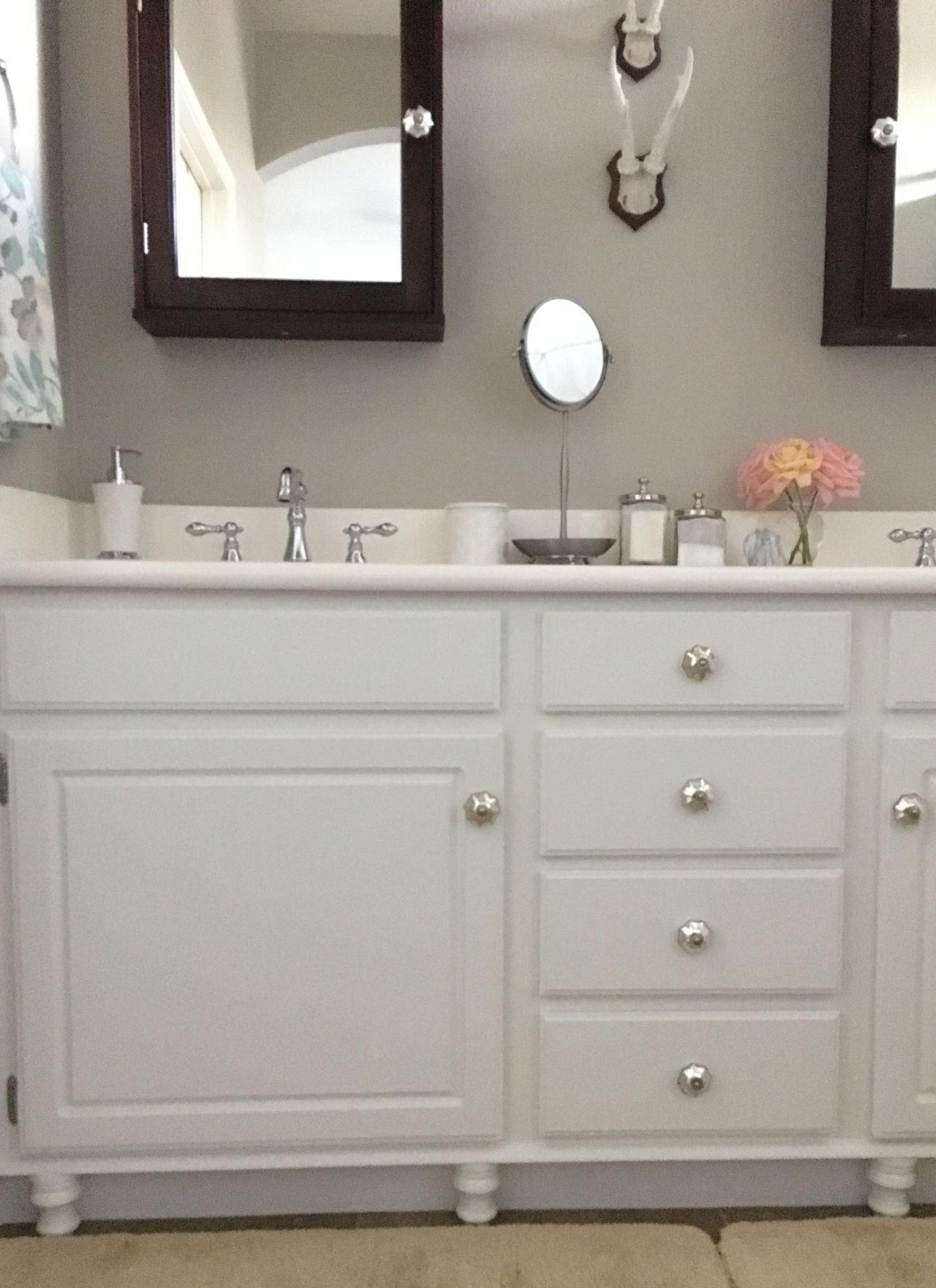 Adding Wood Feet to a Bathroom Vanity