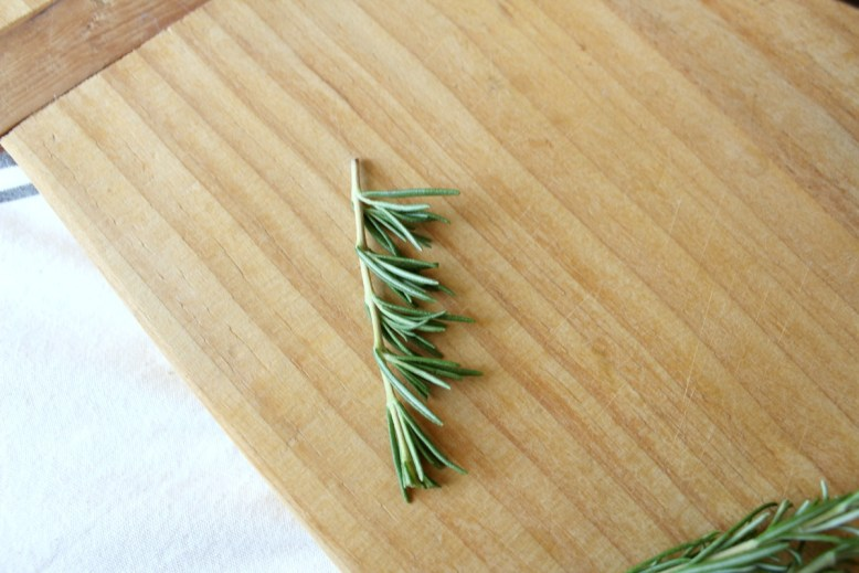 the perfect way to cut rosemary-3