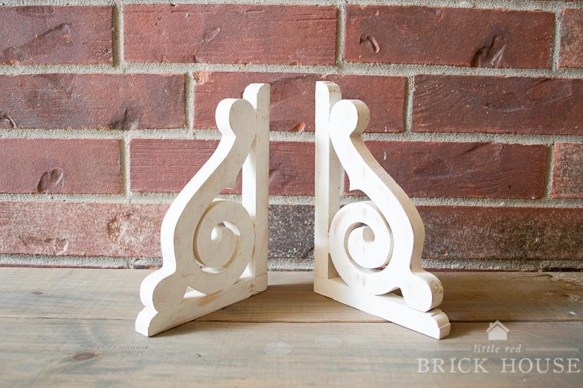 Wood Corbel Shelf DIY