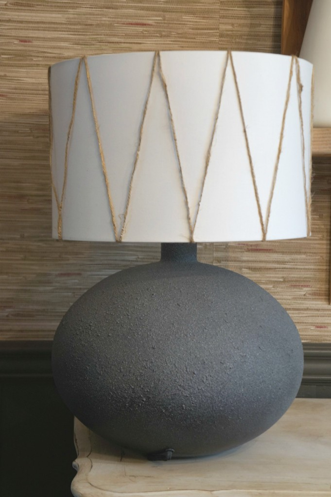 Boho Thrifted Lamp makeover