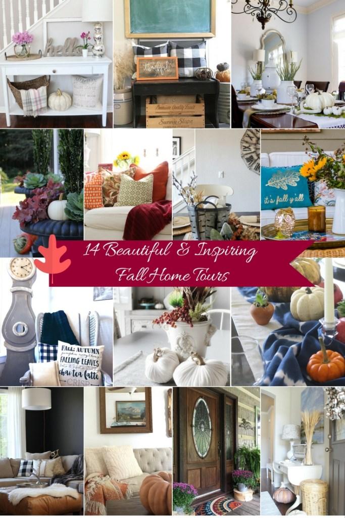 14 fabulous fall home tours
