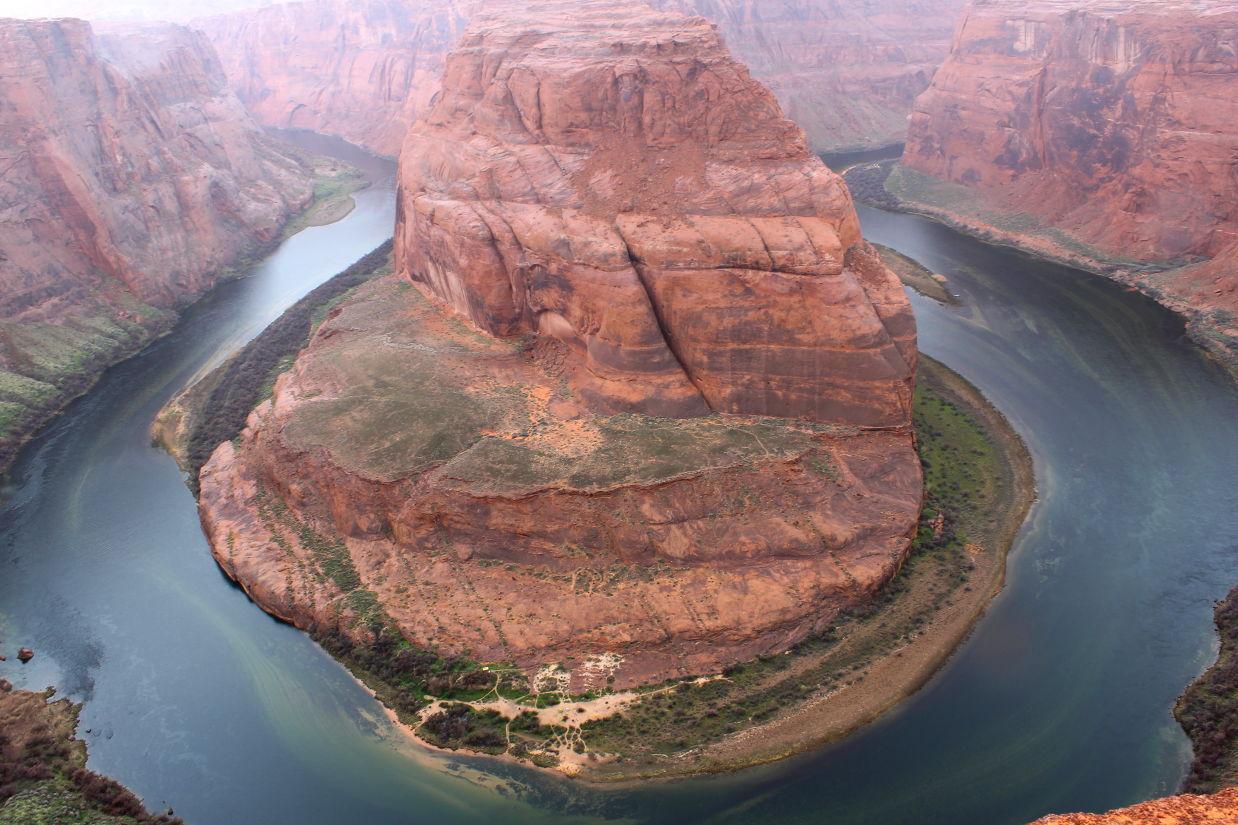 View of Horseshoe Bend Grand Canyon