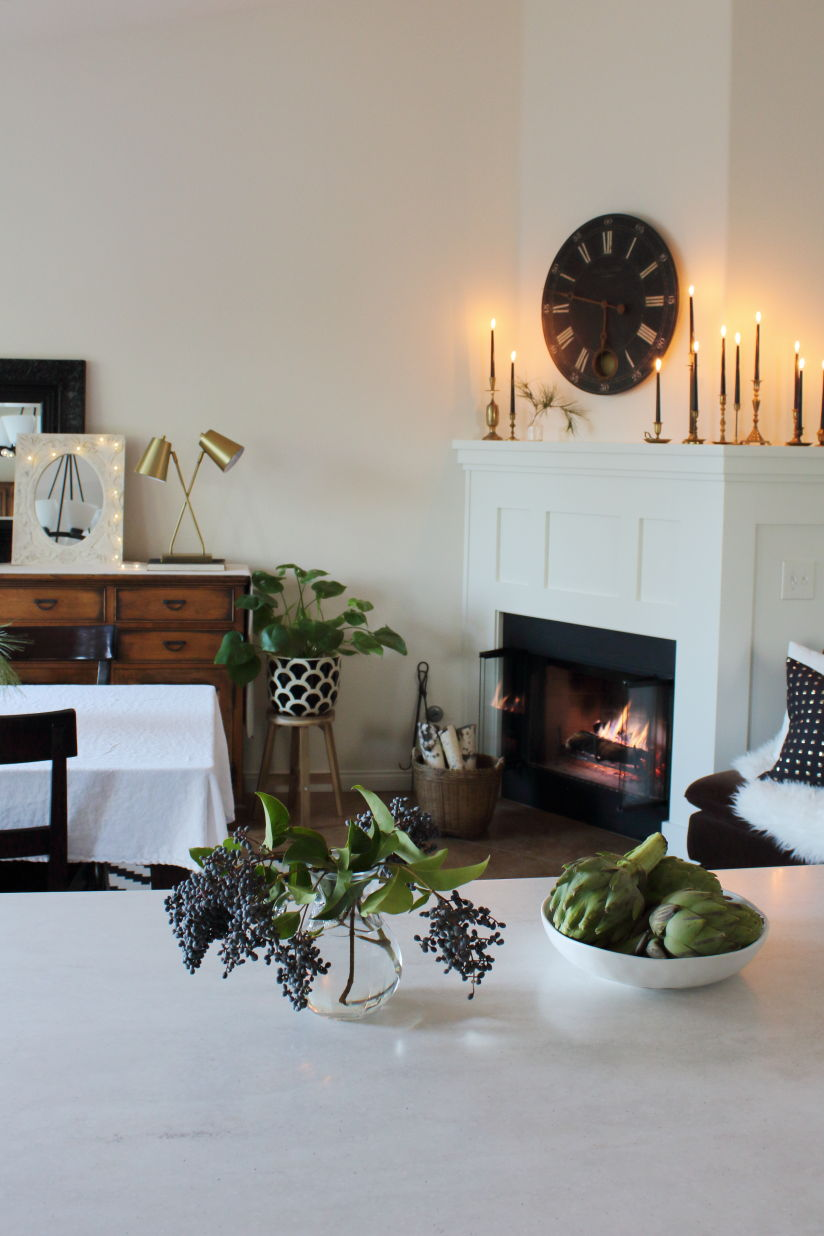 hosting a hygge dinner party