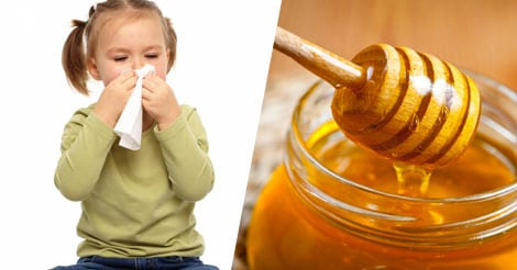 Honey is good first aid remedy for kids' cough and cold, studies show