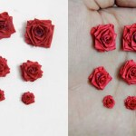 Making Paper Quilled Roses – Different Sizes