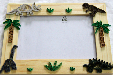 paper quilling tutorial for dinosaurs