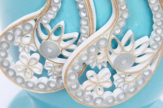 Eco Friendly Wedding Bridal Earrings and Bridesmaid Earrings
