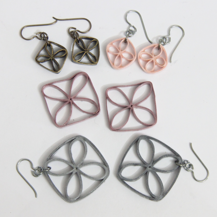tips for making paper quilled jewelry