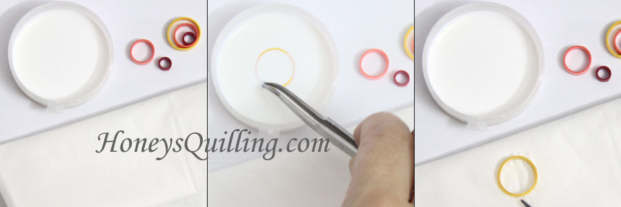 free paper quilling tutorial for trendy multi circle dangle earrings