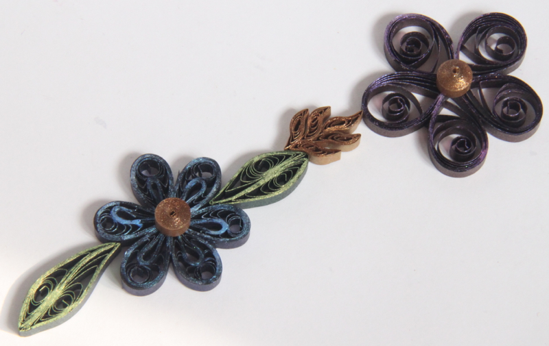using mica watercolor us artquest on quilling paper designs