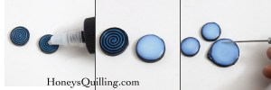 How to apply PPA as a sealant for your paper quilled jewelry