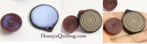 using matte PPA (perfect paper adhesive) as a sealant and topcoat for your paper quilled jewelry
