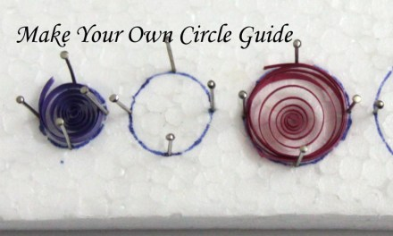 Make Your Own Circle Sizing Guide for Paper Quilling