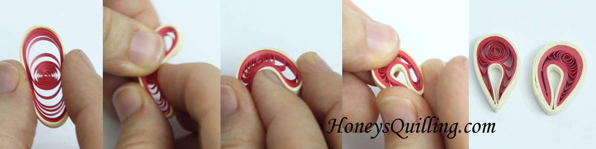 Tips On Making Paper Quilled Folded Circles For Malaysian Flower
