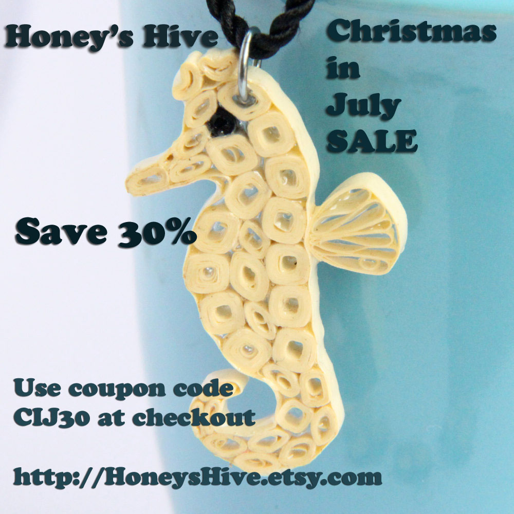 Christmas in July Sale - Save 30%!