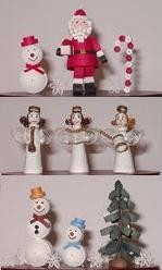 Giveaway open worldwide at Honey's Quilling - 3D Christmas Kit