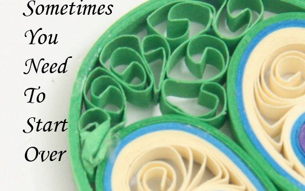 Making Paper Quilled Jewelry – Tip #7 – Sometimes You Need to Start Over