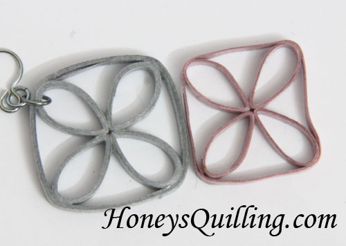 Jewelry tip from Honey's Quilling - sometimes you need to start over!
