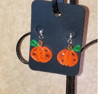 Paper Quilled Halloween Jewelry from Around the World