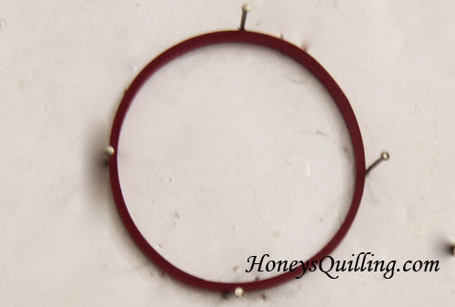Paper Quilling Jewelry Tip #9 - How to Make Sturdy Big Circles - Honey's Quilling