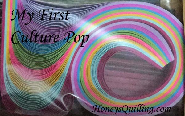 My First Order from Culture Pop Quilling Papers