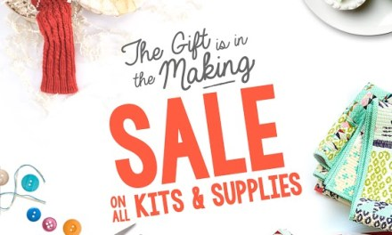 Fall Craftsy SALE and Update on Giveaways
