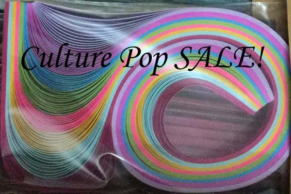 Culture Pop Quilling Paper SALE