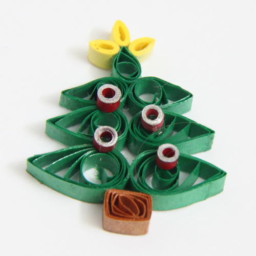 Christmas tree tutorial - Honey's Quilling