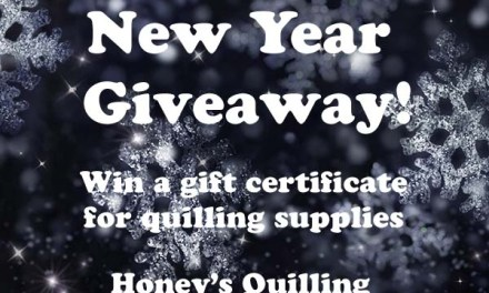 Giveaway – Win a Gift Certificate to Shop for Paper Quilling Supplies – Open Worldwide