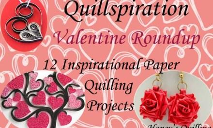 Quillspiration – Paper Quilling Valentine's Day Designs