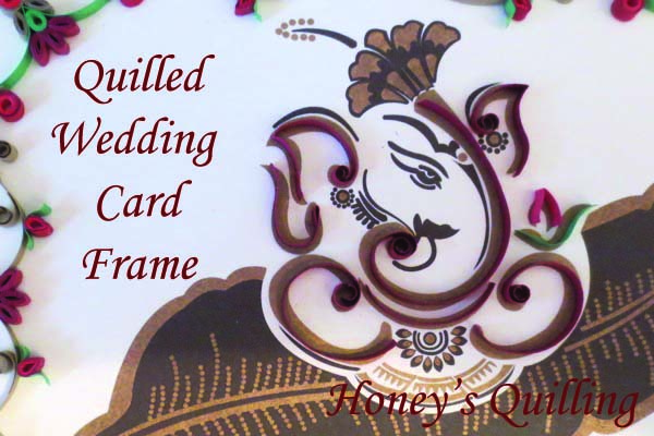 Ganesha Wedding Invitation Frame Gift