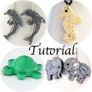 holiday sale - save 20% on jewelry and tutorials from Honey's Quilling!holiday sale - save 20% on jewelry and tutorials from Honey's Quilling!