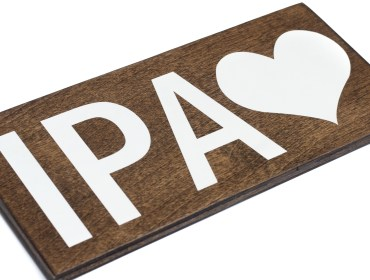 IPA craft beer sign