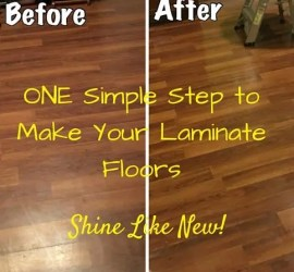 Refinish Your Laminate Floors
