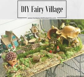 DIY Fairy Village, Garden