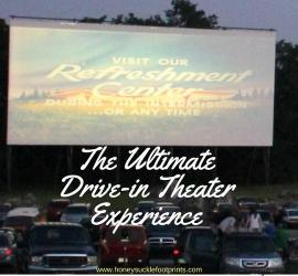 The Ultimate Drive-in Theater experience. A go to for tips, advice, and what to bring to make a drive-in movie theater experience it's best!