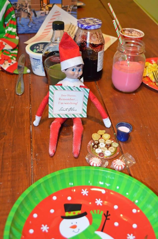 Unique Elf Ideas, creative Elf Ideas, Elf on the Shelf,