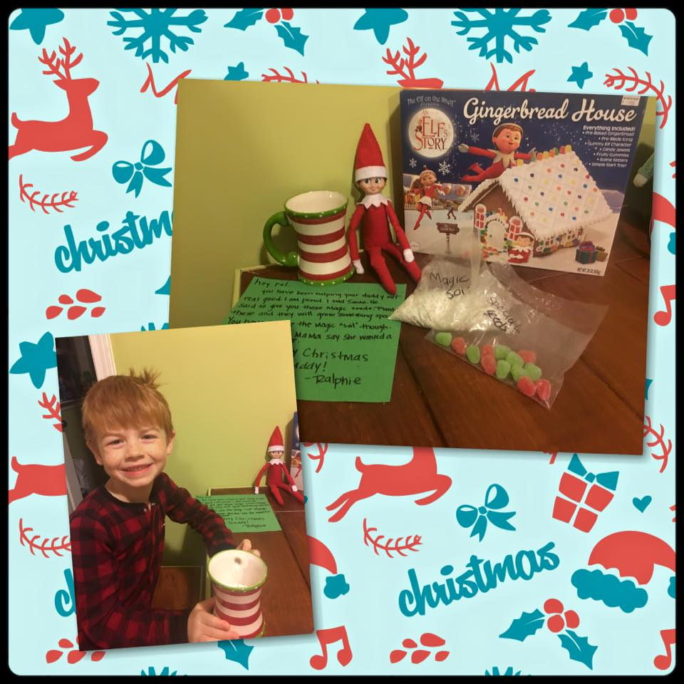 elf on the shelf ideas, Creative & unique elf ideas, Magic candycane seeds