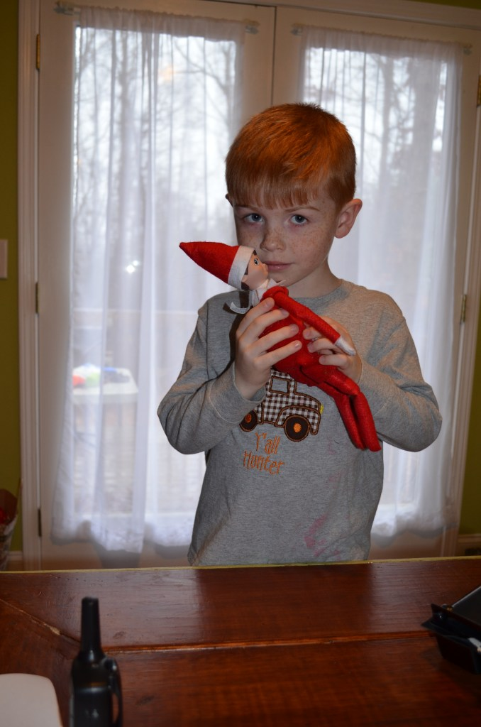 elf on the shelf goodbye letter santa lifts his magic
