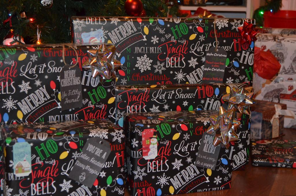 Christmas Present Tags, Chalkboard Tags, Labels, Christmas, Elegant, Movie Quotes, Fun