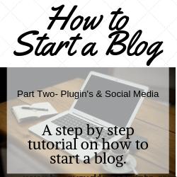 How to start a blog, plugins, wordpress, social media, tailwind