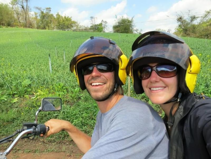Motorcycle Chiang Mai to Pi