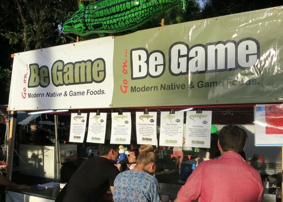 Australian game foods