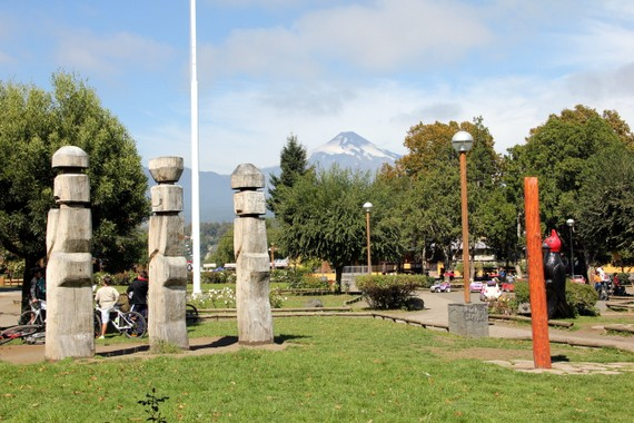 Downtown Pucon Chile
